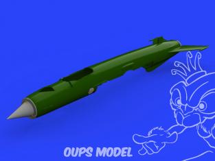 Eduard kit d'amelioration avion brassin 648490 MiG-21 F.O.D. Eduard 1/48