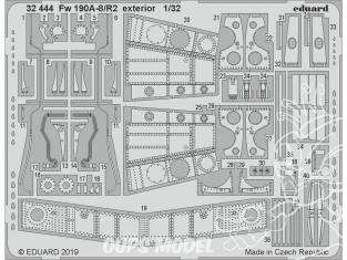 Eduard photodécoupe avion 32444 Extérieur Focke Wulf Fw 190A-8/R2 Revell 1/32