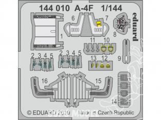 Eduard photodecoupe avion 144010 Amélioration A-4F Eduard / Platz 1/144