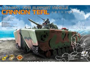 AFV maquette militaire AF35141 LVTH6A1 Véhicule de soutien au feu amphibie (Canard Duck) 1/35