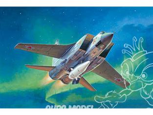 TRUMPETER maquette avion 01697 MIG-31BM avec KH-47M2 1/72