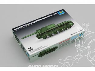 TRUMPETER maquette militaire 07130 Artillerie automotrice soviétique SU-152 type tardif WWII 1/72