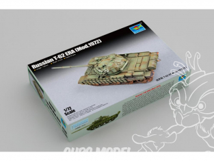 TRUMPETER maquette militaire 07149 Russie T-62 ERA (révisée en 1972) 1/72