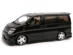 AOSHIMA miniature 72707 Nissan Elgrand 1/43