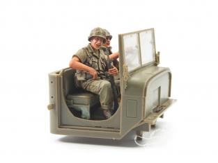 Hobby Fan kit personnages HF747 US ARMY M54 ÉQUIPE DE CONDUCTEUR DE CAMION DE 5 TONNES AU VIETNAM 1/35
