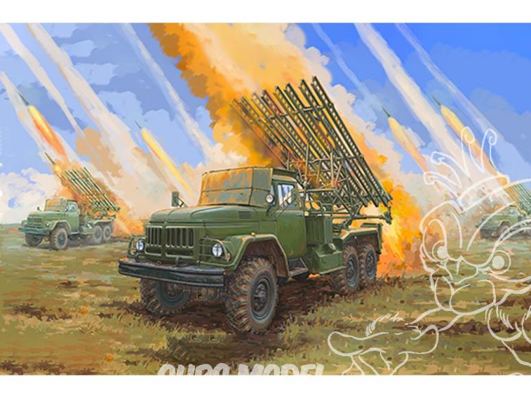 TRUMPETER maquette militaire 01062 Katioucha BM-13 HMM 1/35