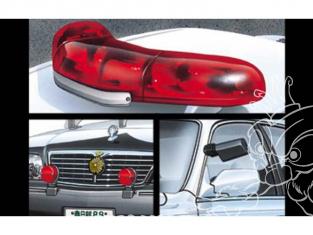 Aoshima maquette voiture 47989 Pièces voitures de Patrouille Type A 1/24