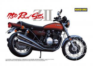 Aoshima maquette moto 41505 Kawasaki 750 Roadster ZII 1/12