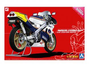 Aoshima maquette moto 05439 Honda NSR 250R SP avec Pieces 1/12