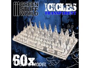 Green Stuff 504064 Stalactites et Glaçons en Résine