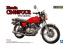Aoshima maquette moto 07648 Honda CB400 Four 1974 1/12