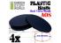 Green Stuff 503913 Socles Plastiques Ovale 105x70mm AOS
