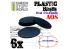 Green Stuff 503890 Socles Plastiques Ovale 75x42mm AOS