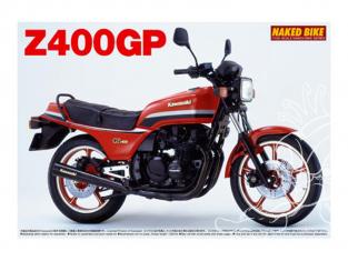 Aoshima maquette moto 49150 Kawasaki Z400GP 1982 1/12