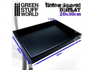 Green Stuff 503760 Socle carré creux 20x30 cm