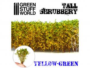 Green Stuff 504255 Grands Arbustes -Jaune Vert