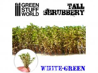 Green Stuff 504262 Grands Arbustes - Blanc Vert