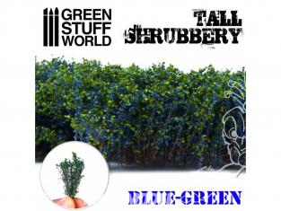 Green Stuff 504279 Grands Arbustes - Bleu Vert