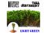 Green Stuff 504248 Grands Arbustes - Vert Clair