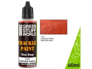 Green Stuff 501766 Peinture Craquelure - Terre martienne 60ml