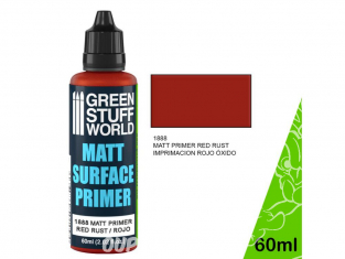 Green Stuff 502473 Primaire Rouge Mat 60ml