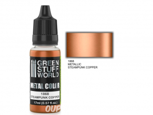 Green Stuff 502275 Peinture metallisee STEAMPUNK COPPER