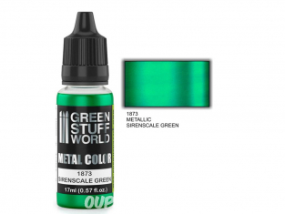 Green Stuff 502329 Peinture metallisee SIRENSCALE GREEN