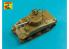 Aber 56L01 Canon de char américain 75mm M3 pour Sherman M4 1/56