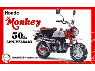 Fujimi maquette moto 141749 Honda Monkey 50eme Anniversaire 1/12