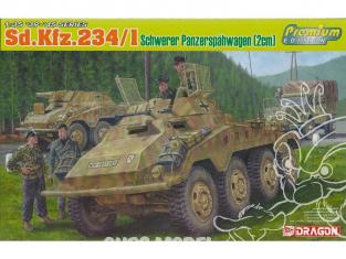 Dragon maquette militaire 6879 Sd.Kfz.234/1 schwerer Panzerspähwagen (2cm) Premium Edition 1/35