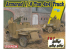 Dragon maquette militaire 6727 Jeep 4x4 blindé 1/4 tonne avec mitrailleuse / .50 cal (3 en 1) 1/35