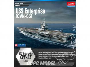Academy maquette bateau 14400 USS Enterprise CVN-65 1/400