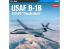 "Academy maquettes avion 12620 USAF B-1B 34th BS ""Thunderbirds 1/144"