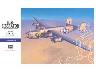 HASEGAWA maquette avion 01558 Consolidated B-24D Liberator 1/72
