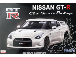 Fujimi maquette voiture 037998 Nissan GT-R R35 Club Sports Package 1/24