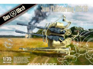 DAS WERK maquette militaire DW35004 3cm Flakvierling 103/38 1/35