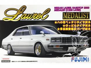 Fujimi maquette voiture 038605 Nissan Laurel Hardtop 2000 Medalist (C230 Later) 1/24