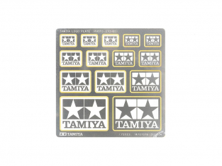 Tamiya 73023 PLAQUE DE LOGO TAMIYA (PHOTO-GRAVEE)