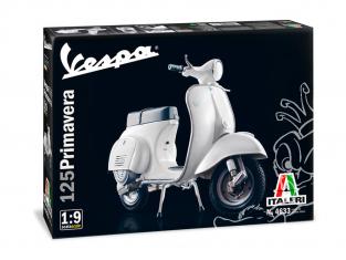 Italeri maquette moto 4633 VESPA 125 PRIMAVERA 1/9