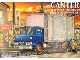 fujimi maquette camion 011257 Mitsubishi Fuso canter cargo 1/32