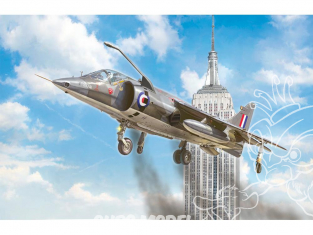 Italeri maquette avion 1435 HARRIER GR.1 Transatlantic Air Race 50th Anniversaire 1/72