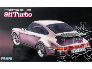 Fujimi maquette voiture 126432 Porsche 911 Turbo 1/24