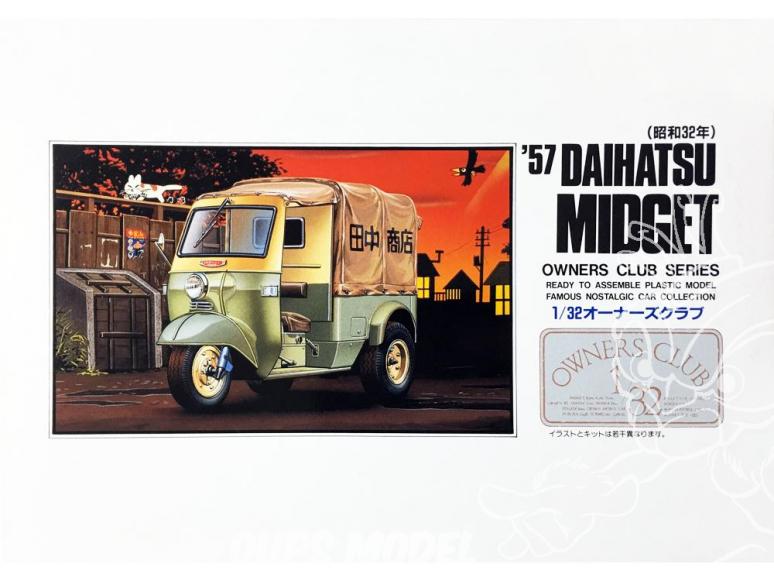 Arii maquette voiture 41007 Daihatsu Midget 1957 1/32