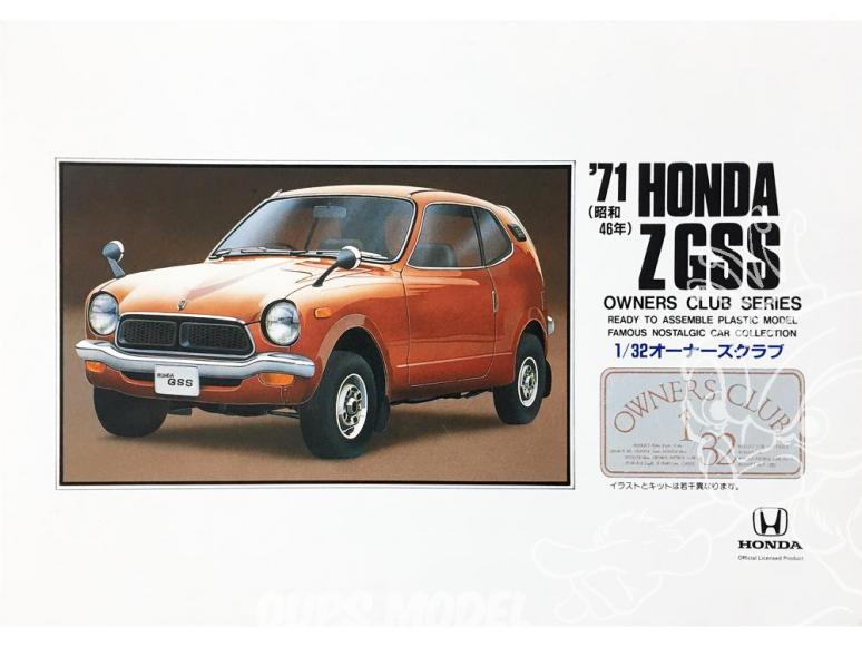 Arii maquette voiture 41002 Honda Z GSS 1971 1/32