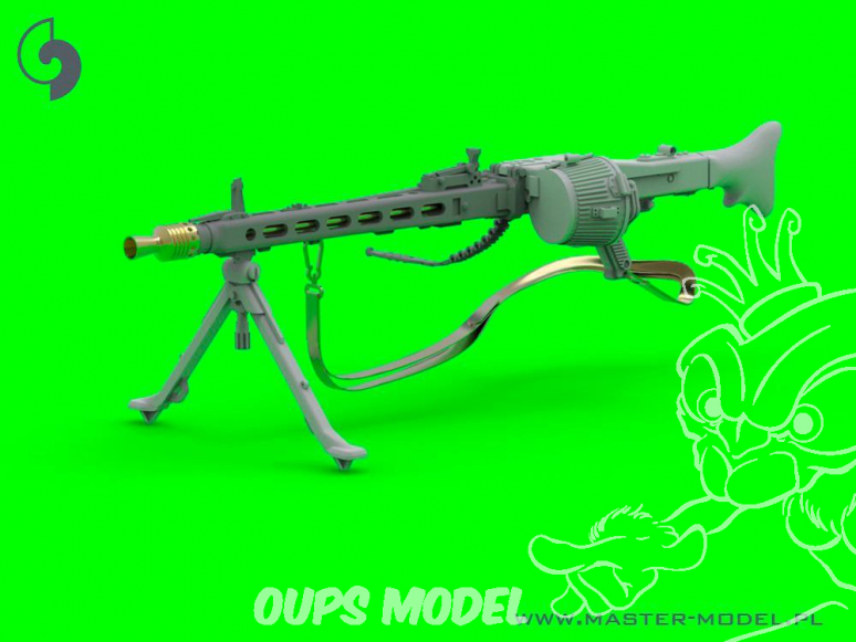 Master Model GM-35-024 MG-42 Mitrailleuse allemande (7.92mm) 1/35