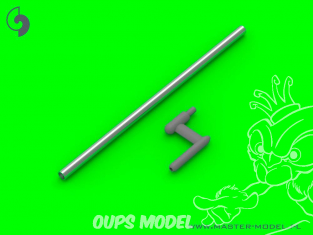 Master Model AM-32-117 Tube de Pitot Sonde de type en forme de L  (1 unité) 1/32