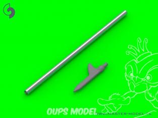 Master Model AM-32-116 Tube de Pitot U.S. Sonde de type Shark-fin  (1 unité) 1/32