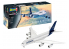 Revell maquette model set avion 03872 Airbus A380-800 Lufthansa New Livery 1/144