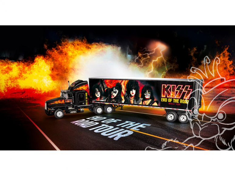 Revell maquette camion 07644 KISS Tour Truck 1/32