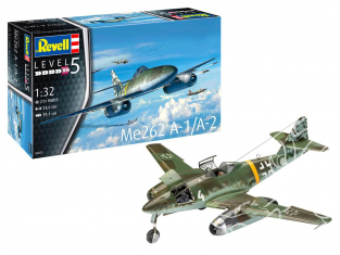 Revell maquette avion 03875 Me262 A-1 Jetfighter 1/32
